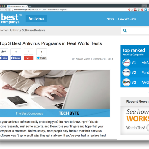 Top 3 Best Antivirus Programs in Real World Tests