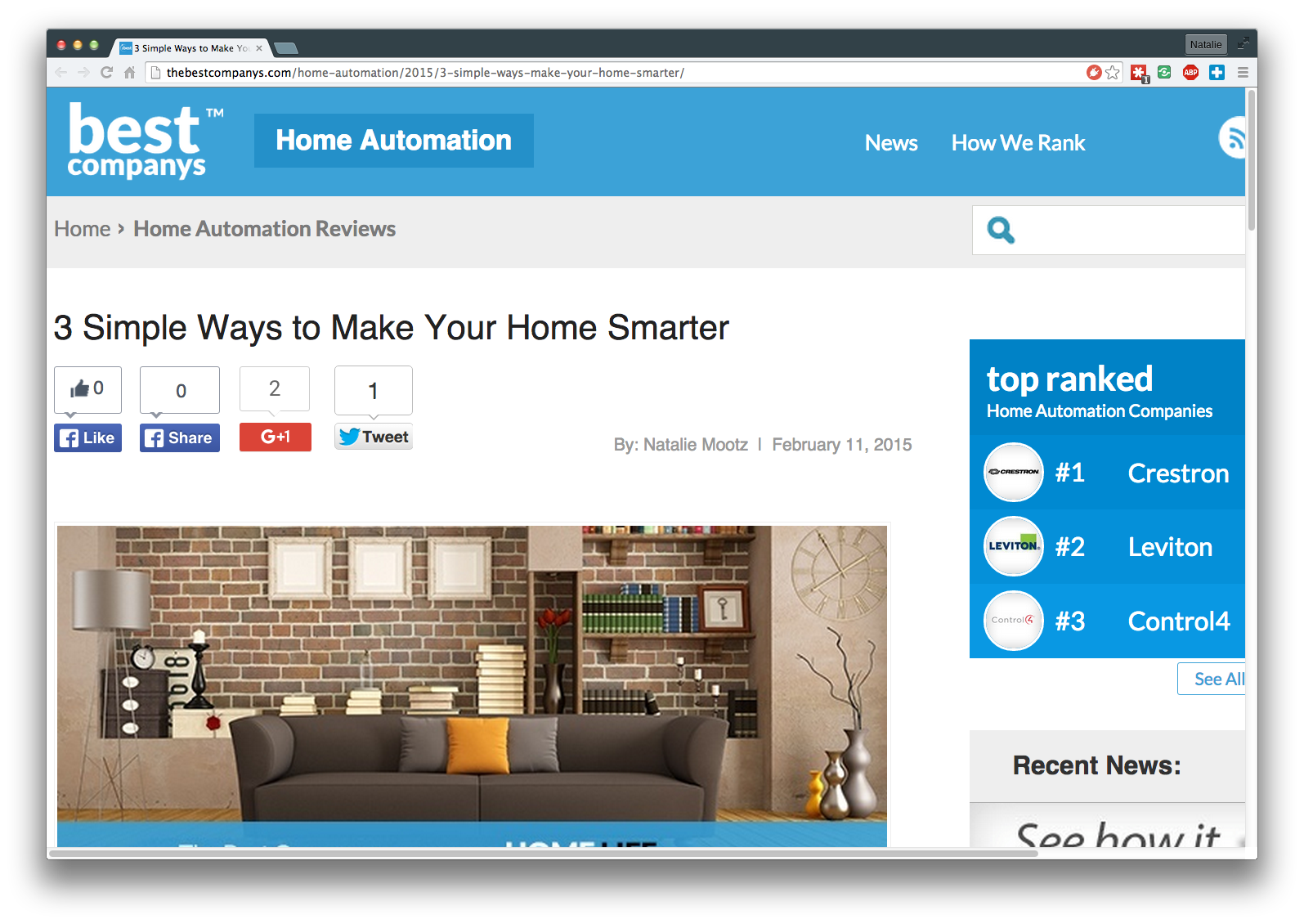 3 Simple Ways to Make Your Home Smarter