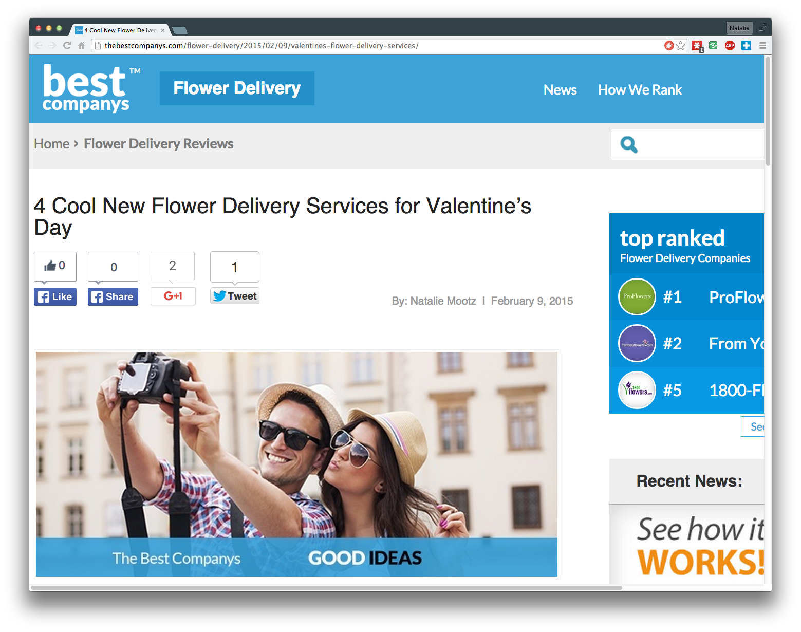 4 Cool New Flower Delivery Services for Valentine's Day