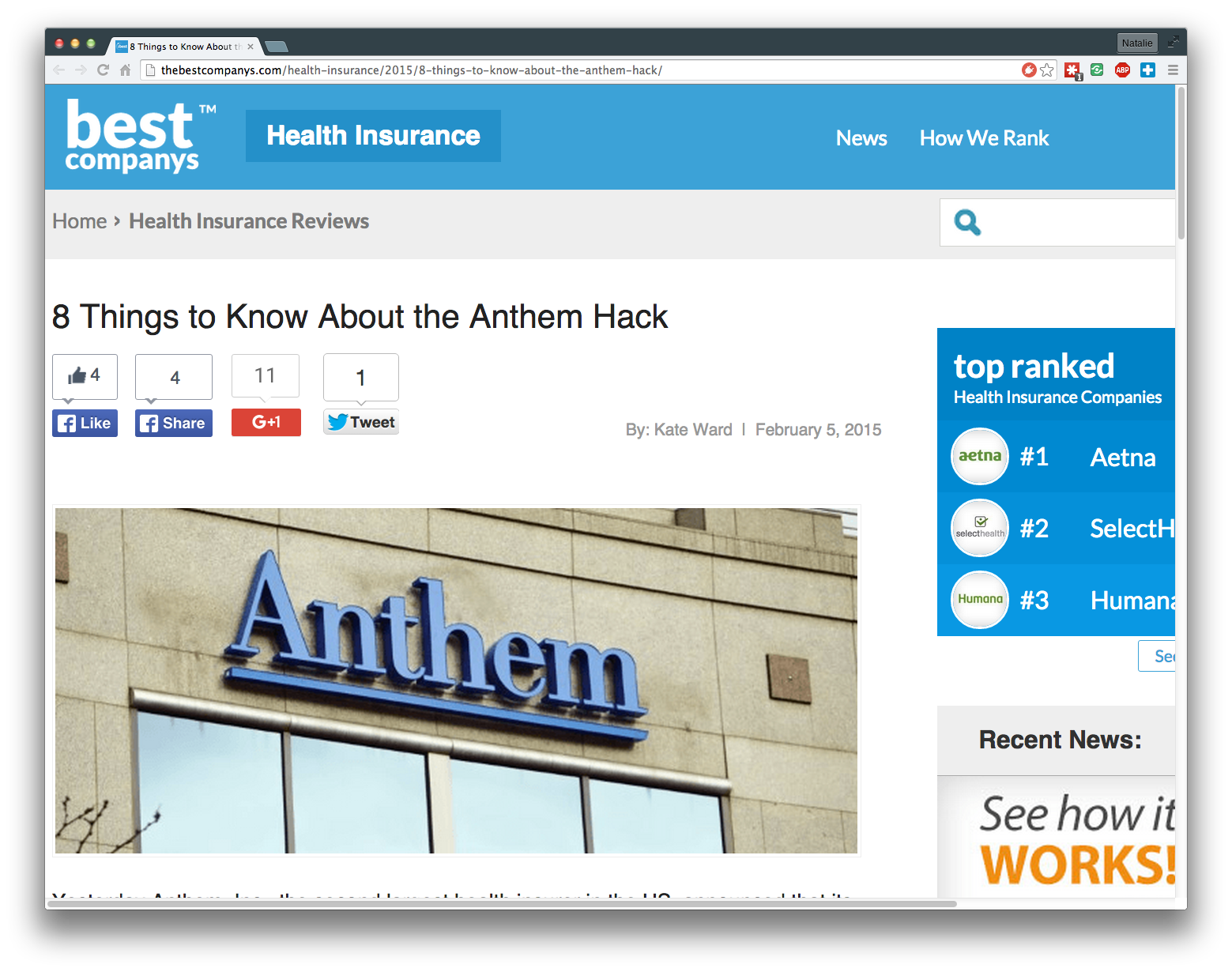 8 Things to Know About the Anthem Hack