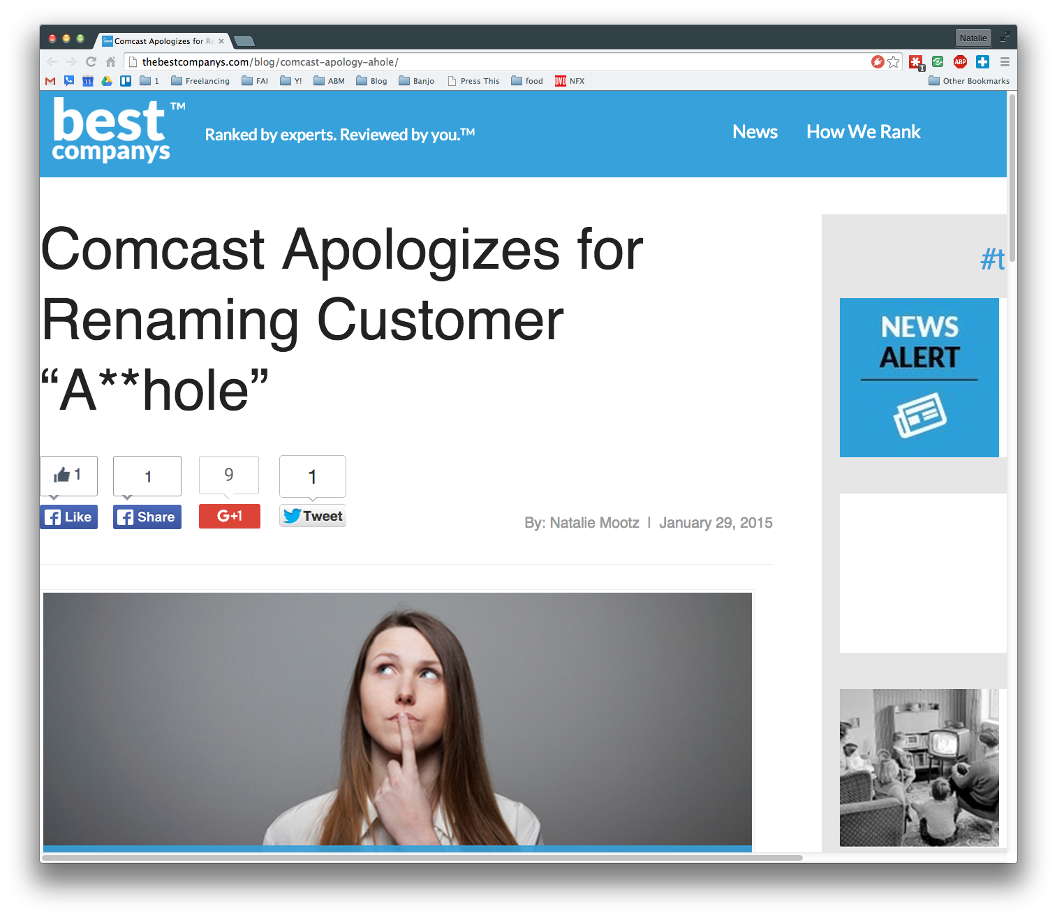 """Comcast Apologizes for Renaming Customer """"A**hole"""""""