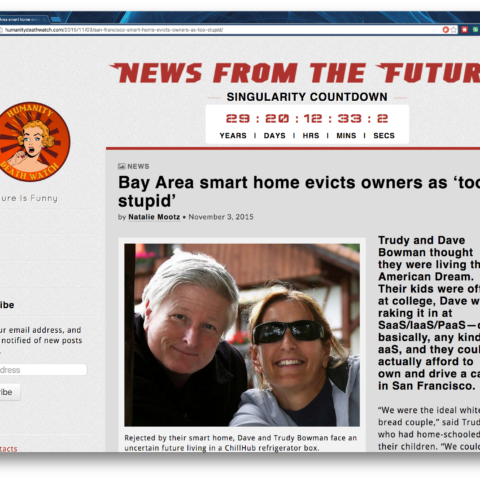 Bay Area smart home evicts owners as 'too stupid'