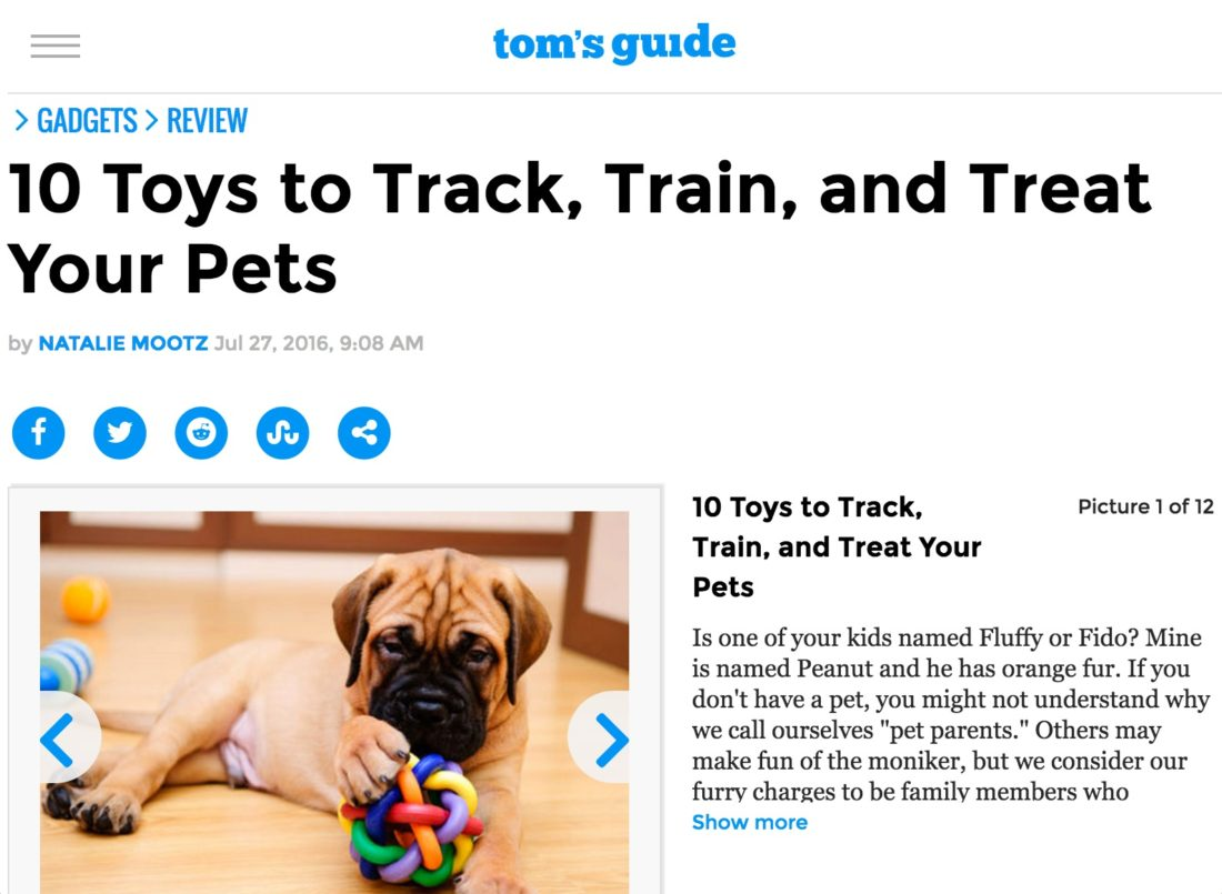 Tom's Guide - 10 Pet Toys