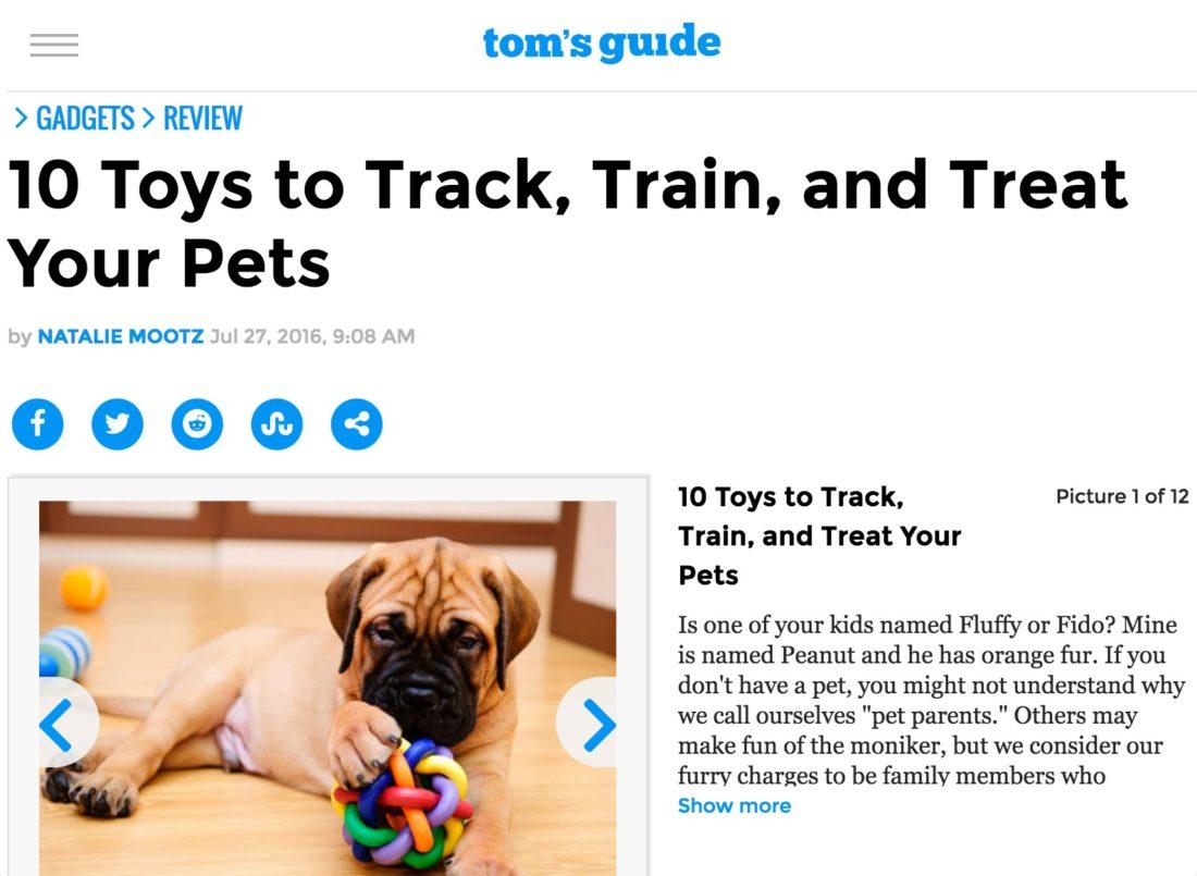 Tom's Guide - 10 Pet Toys
