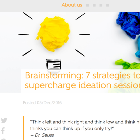 Brainstorming: 7 strategies to supercharge ideation sessions