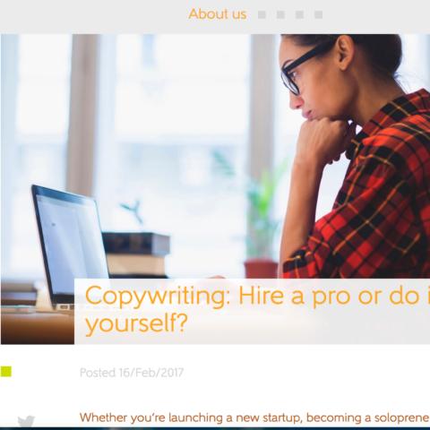 Copywriting: Hire a pro or do it yourself?