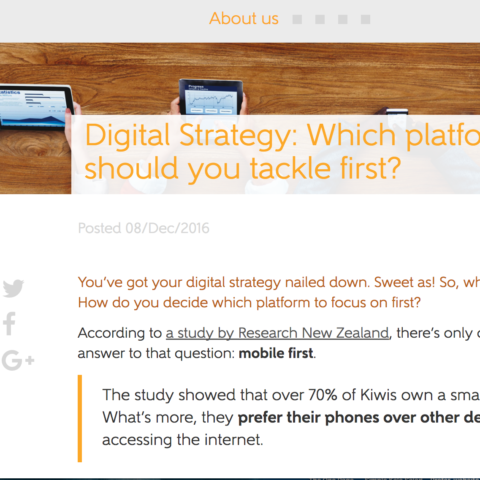 Digital Strategy: Which platform should you tackle first?