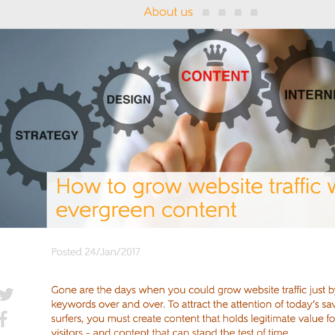 How to drive website traffic with evergreen content