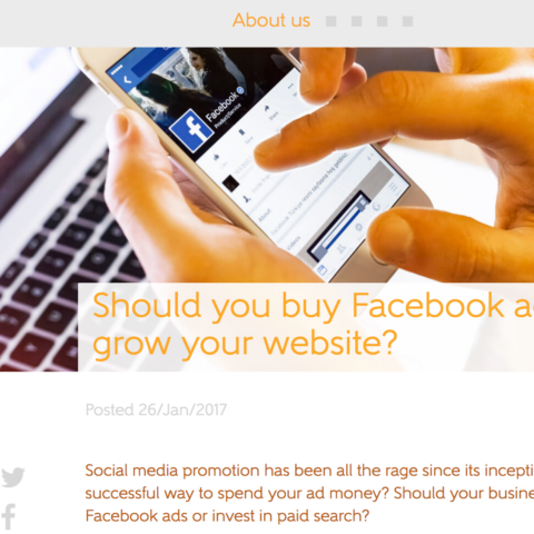 Should you buy Facebook ads to grow your website?