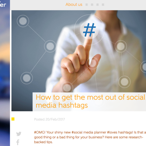 How to get the most out of social media hashtags